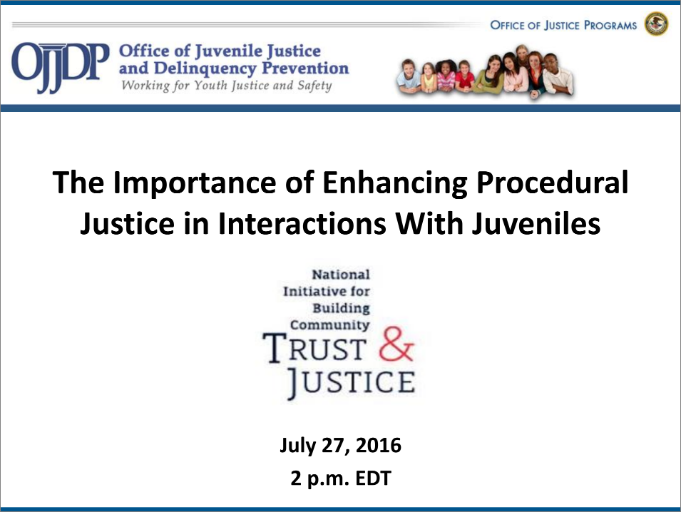 Essay on procedural justice